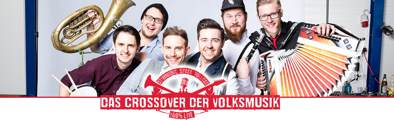 Grabenland Buam - Das Crossover der Volksmusik.